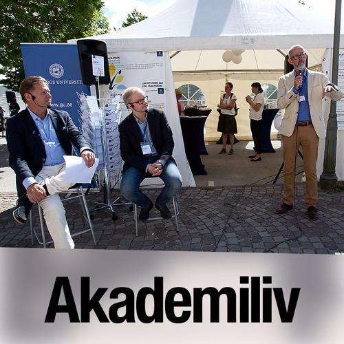 Heta stolen i Almedalen om åldrande och äldres hälsa med Ingmar Skoog och Anders Palmgren