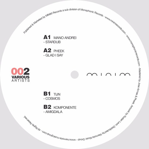 A2. Pheek - Glad I Say [VINYL ONLY]