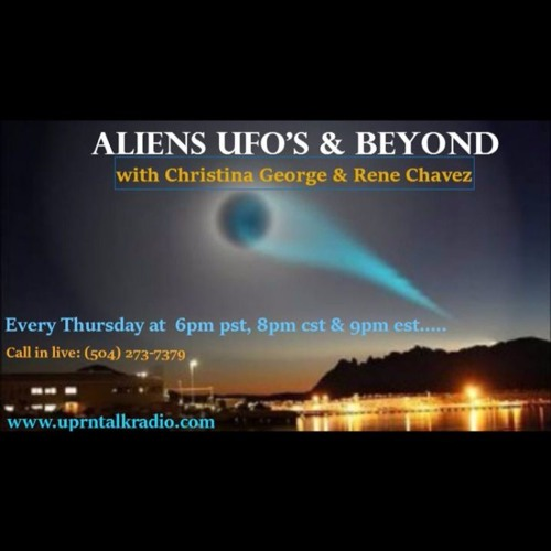 Aliens Ufo's & Beyond Radio Show - With Guest Aug Tellez..Insider & Ex MILAB Operative discussing