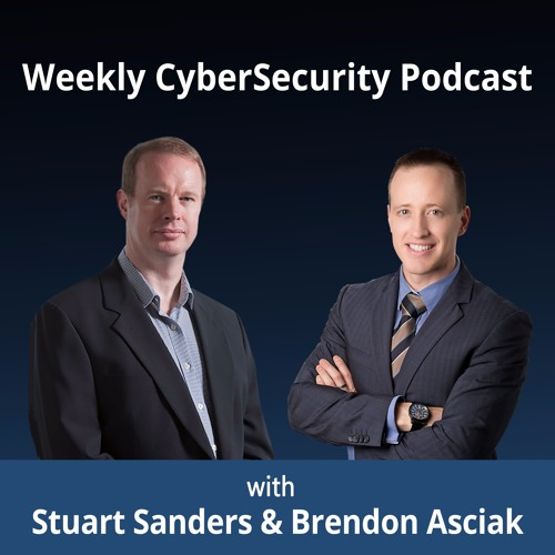 Weekly CyberSecurity Podcast - cover