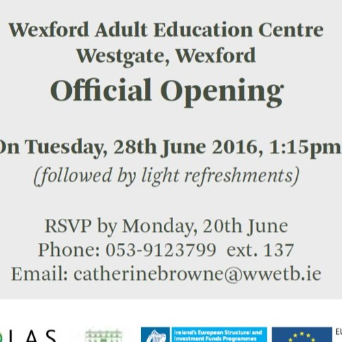 Wexford Adult Education Centre: Learner Stories - VTOS Programme -  Sian, Estelle, Keith and John