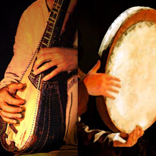 2 - LALEDAKIA (Trad grec)- E.TROY : Chant, GambaCello / L.GIRARDEAU : Tambour Brahmane