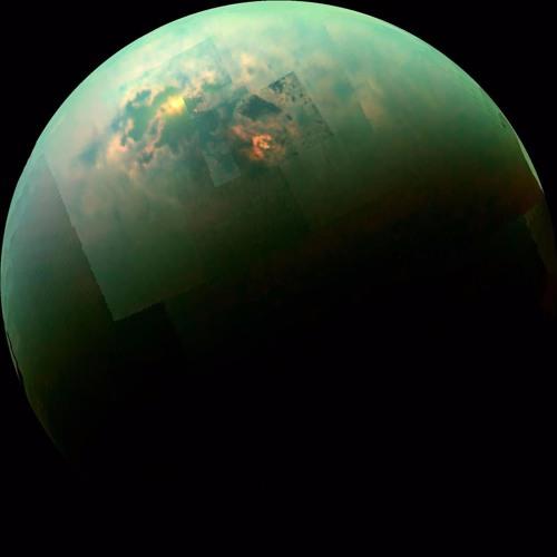 A Jovian Arrival, Titan Chemistry, and a Goatly Gaze