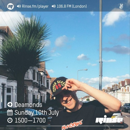 Rinse FM Podcast - Deamonds w/ Tre Mission, Merky Ace, Freeza Chin & Splurt Diablo - 10th July 2016
