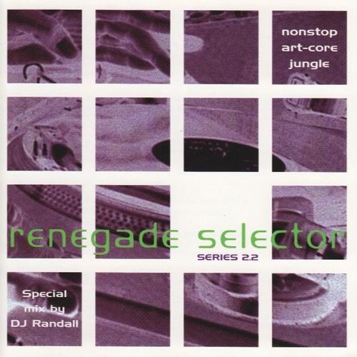 Randall - Renegade Selector Series 2 Mix CD - 1994
