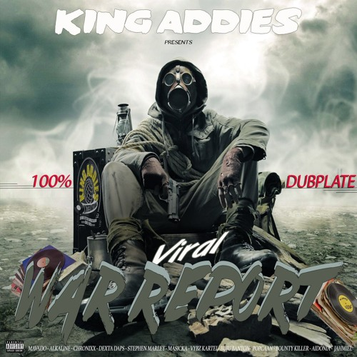 KING ADDIES WAR REPORT MIX CD