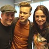 Olly Murs with Steve and Karen - July 2016