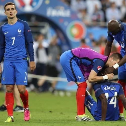 La finale de l'Euro avec les supporters français