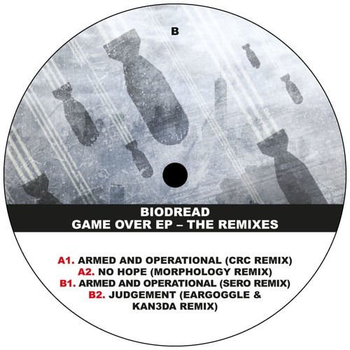 X0X008 Biodread - Game Over EP - The Remixes Sampler