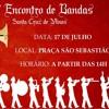 ENCONTRO DE BANDAS EM SANTA CRUZ DE MINAS