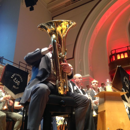 Tuba Concerto No 2 (Bourgeois) - WP Brass Band Version. David Carter, East London Brass