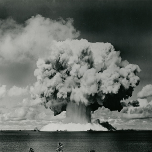 National Broadcasting Company report about the atomic bomb test at Bikini Lagoon