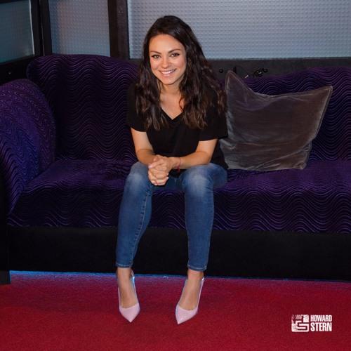 Mila Kunis on Rekindling with Ashton Kutcher – The Howard Stern Show
