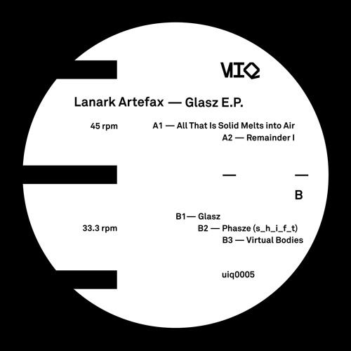 Lanark Artefax — Glasz (UIQ0005)(fragments)