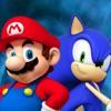 Random Crazy Rap Battles #2 - Mario VS Sonic