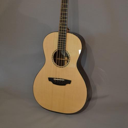 "Sitka spruce Bazar 'bouzouki-guitar', 24"" scale length, rosewood body"