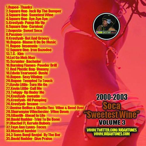 Sweetest Wine Soca vol 3  2000's