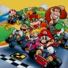 Mario Kart 64 - (Toads Stage)- S Turnpike