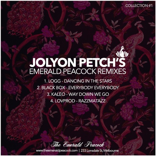 Jolyon Petch's Emerald Peacock Remixes [4 TRACKS - FREE D/L]