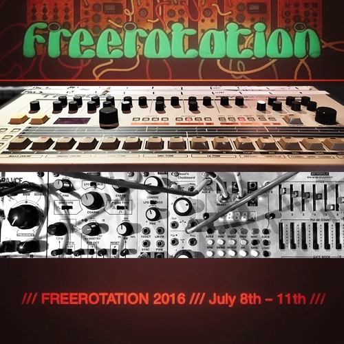 Cubic space collective live at freerotation 2016 by for Cubi spaceo