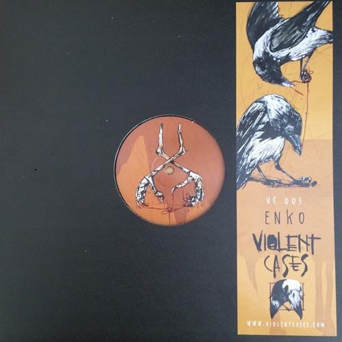 "Violent Cases 003  - Enko | 12"" | 45/33 rpm |release july 23rd  2016"