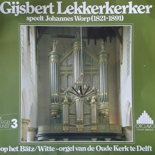 Jan Worp - Phantasie No. 1 in f kleine terts