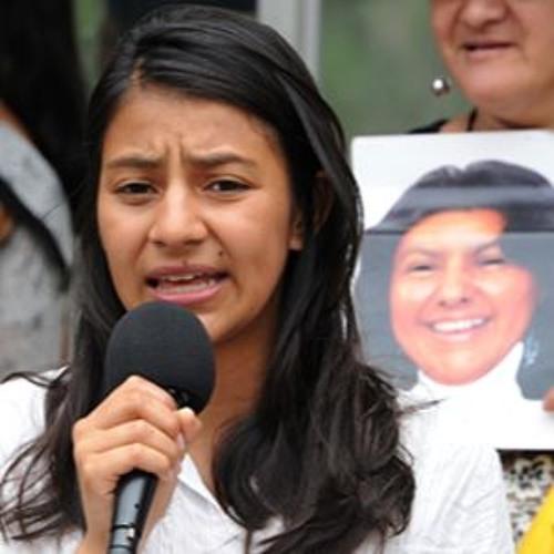 #JusticiaParaBerta: Discurso de Laura Yolanda Zuñiga Cáceres 7.22.16