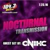 104.3 Hit Fm Radio Nocturnal Transmission DJ Onihc july 2016 Mix