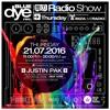 Justin Pak @ Blue Dye rec. Radio Show Ilr 2016-07-21