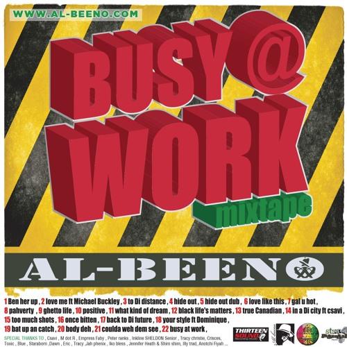 AL BEENO.BUSY AT WORK MIX CD.2016