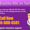 How to enable SSL in yahoo mail