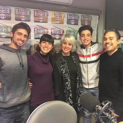 """Entrevista en el programa JEYJEYJEY de Radio """"Con vos"""", Julio 2016"""