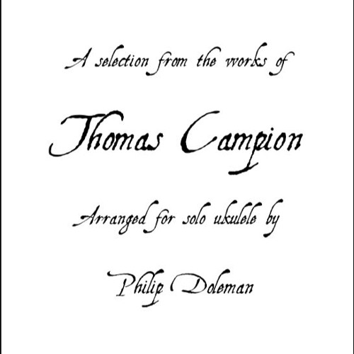 Thomas Campion For Ukulele ebook - accompanying audio