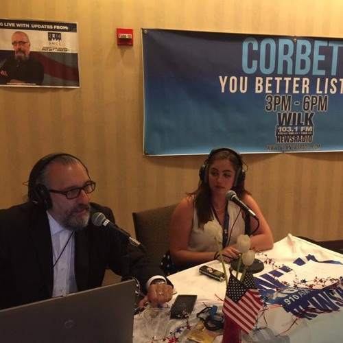 Alexa Ross Reports for WILK on DNC Day 2