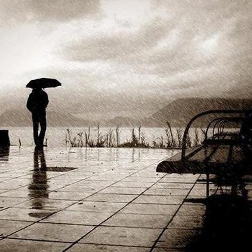 وحيد في المطر