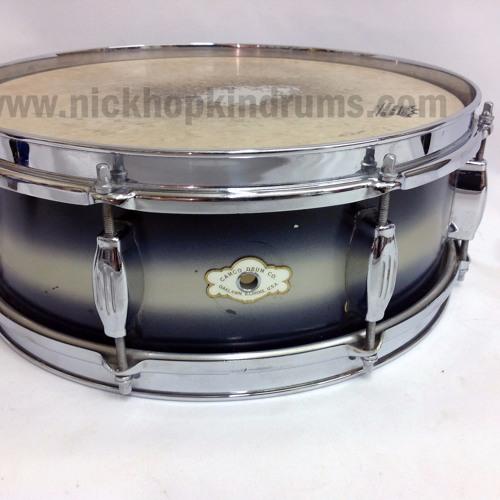 Camco 'Studio' snare drum