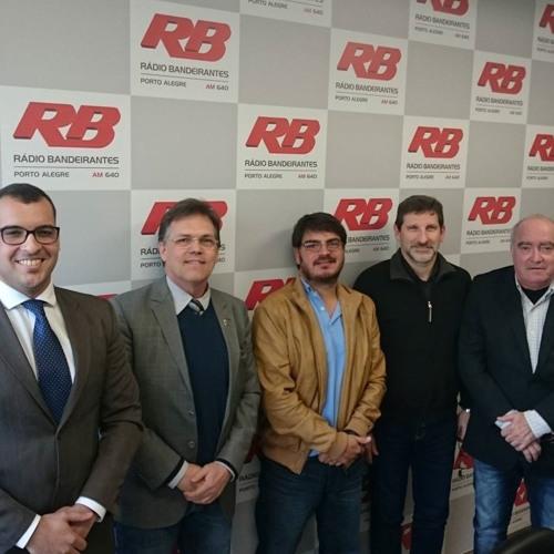 Rádio Livre - 27.07.16 - Rodrigo Constantino, Bruno Dornelles, R. Sondermann, D. Flores e B. Becker