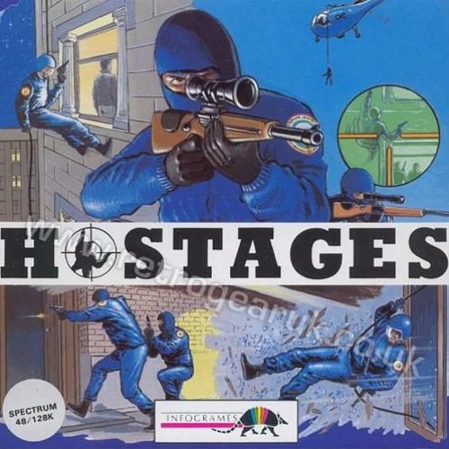 Hostages - Full soundtrack (ZX Spectrum 128, 1990)