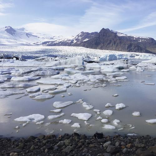 RCK Iceland Fjallsárlón Rock Slope Impact Tumble Debris