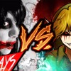 JEEF THE KILLER VS BEN DROWNED | Kronno Zomber y Cyclo