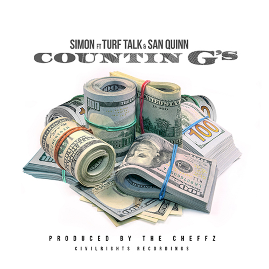SIMON ft. Turf Talk & San Quinn - Countin G's [Thizzler.com Exclusive]