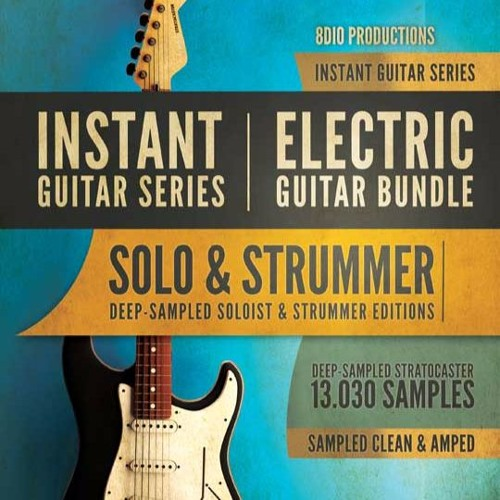 8dio instant electric guitar bundle by 8dio productions free listening on. Black Bedroom Furniture Sets. Home Design Ideas