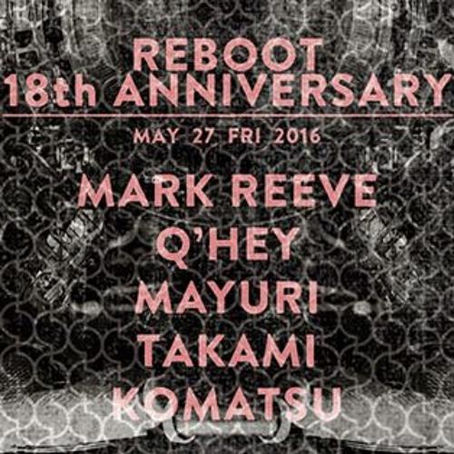 Mark Reeve @ Sankeys Tokyo May 2016