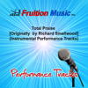 Total Praise (Low Key) [Originally Performed by Richard Smallwood] [Instrumental Track]