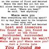 The Fray - You Found Me (Kasum Remix) lyrics
