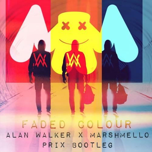 Faded Colour Alan Walker X Marshmello By Prix Pri X Free