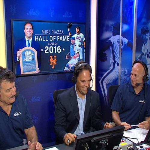 Mike Piazza stops by the SNY booth