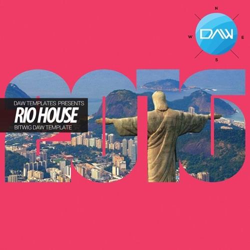 Rio House Bitwig  DAW Template