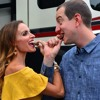 Kyle & Samantha Busch Stop By To Talk Marriage, Snickers & The Viral Video From Martinsville