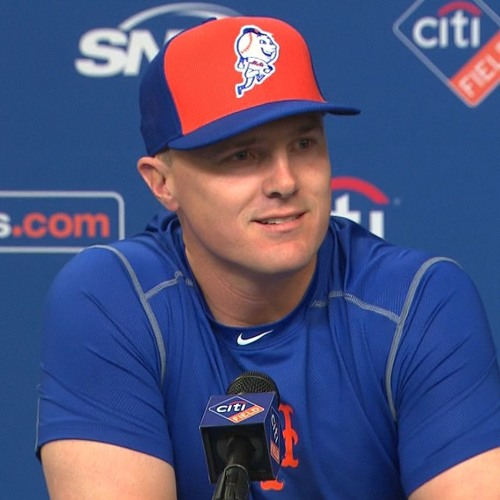Jay Bruce introductory press conference